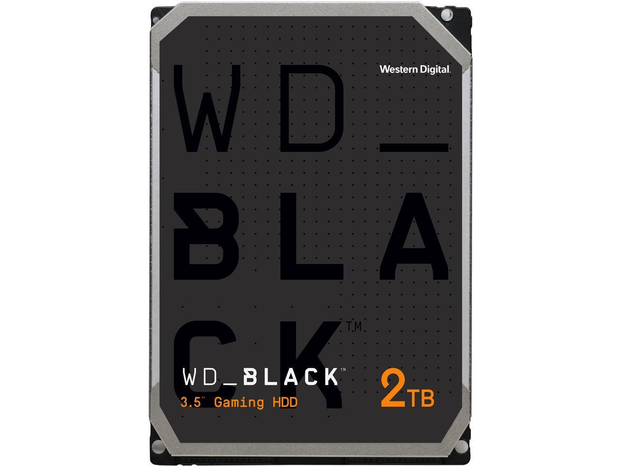 Хард диск WD Black, 2TB, 7200rpm, 64MB, SATA 3, WD2003FZEX-2