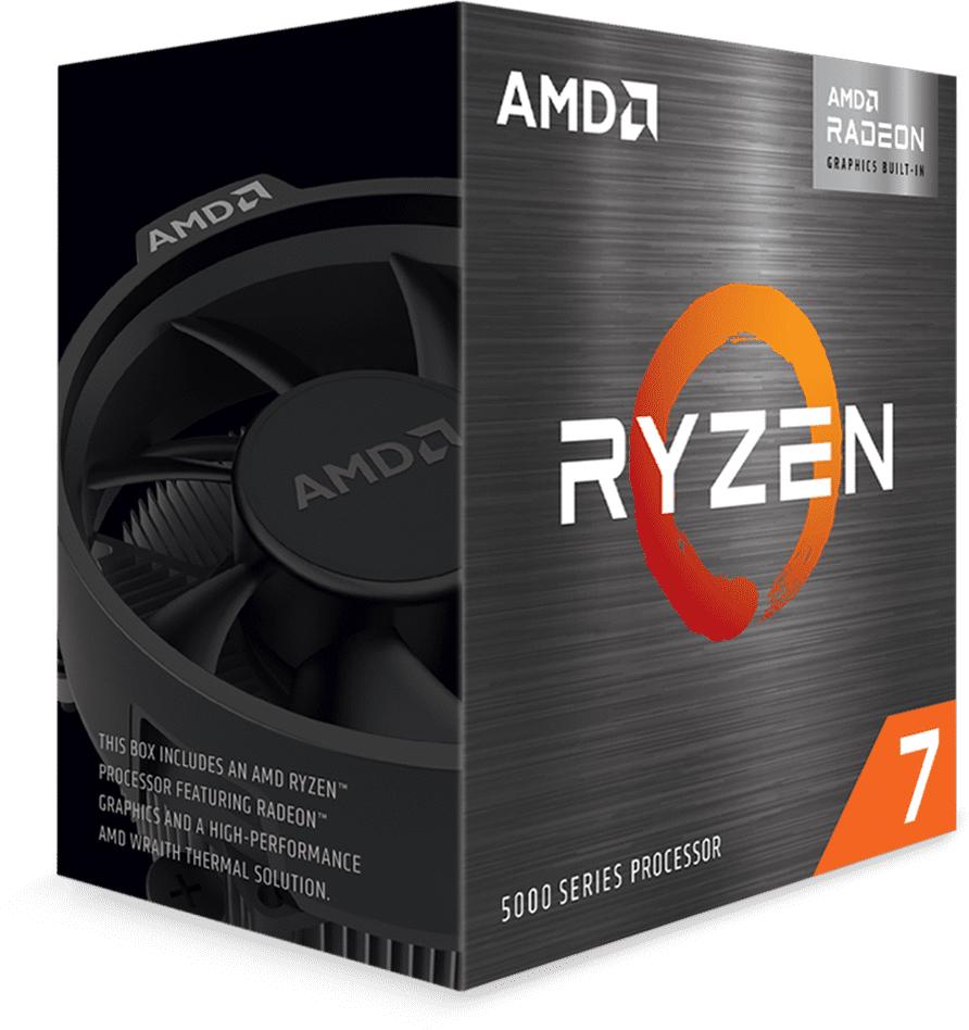 Процесор AMD Ryzen 7 5700G, 3.8GHz(Up to 4.6GHz), 65W, AM4