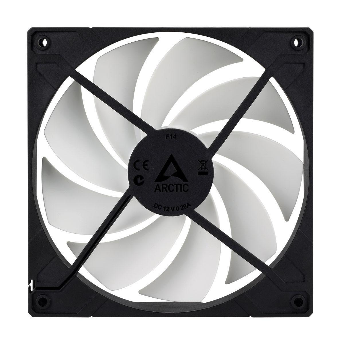 Вентилатор ARCTIC F14, черен-4