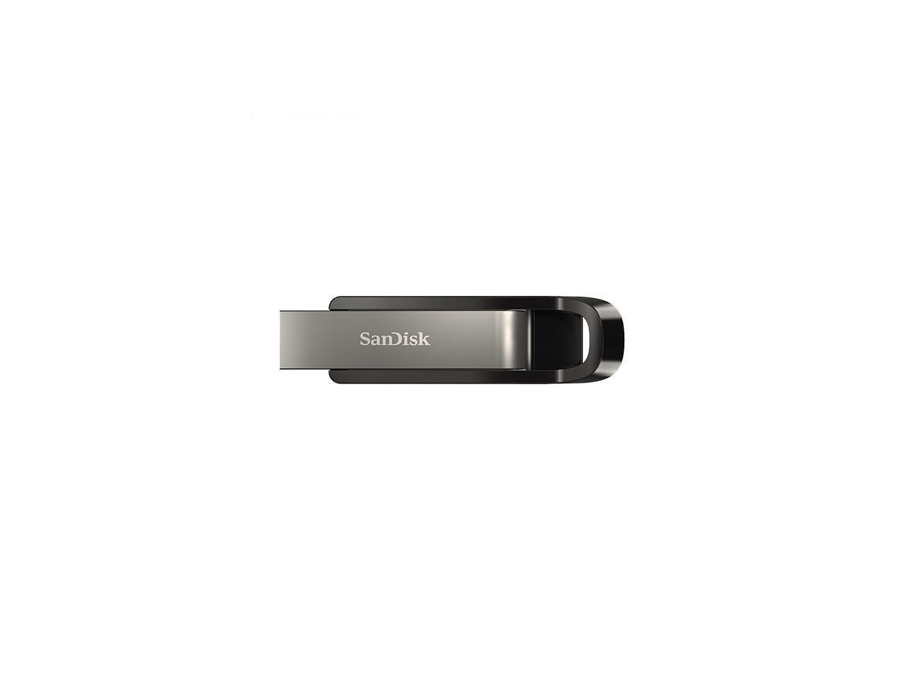 USB памет SanDisk Extreme Go, 256GB, USB 3.2, Черен