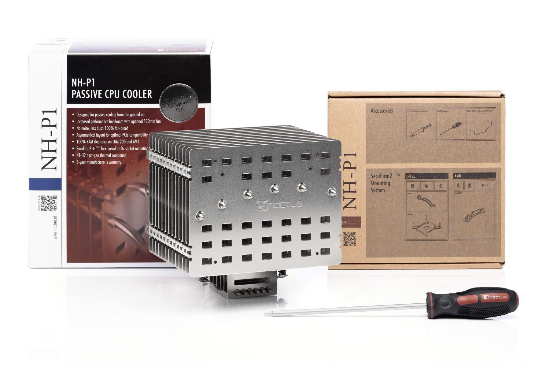 Пасивен Охладител за процесор Noctua NH-P1-4