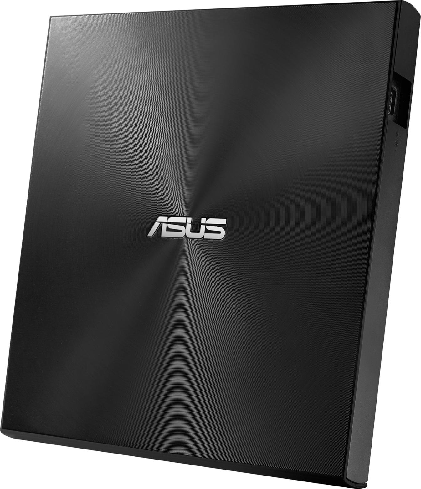 Външно записващо устройство ASUS ZenDrive U8M ultraslim, DVD drive & writer, USB C, Черно-3