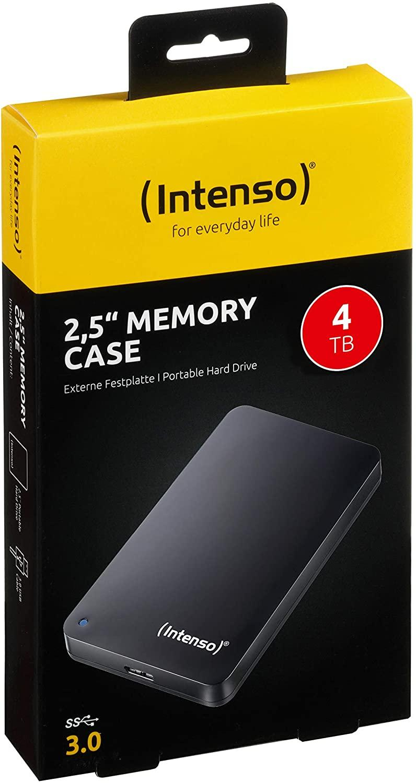 """Външен хард диск Intenso, 2.5"""", 4TB, USB3.0-3"""