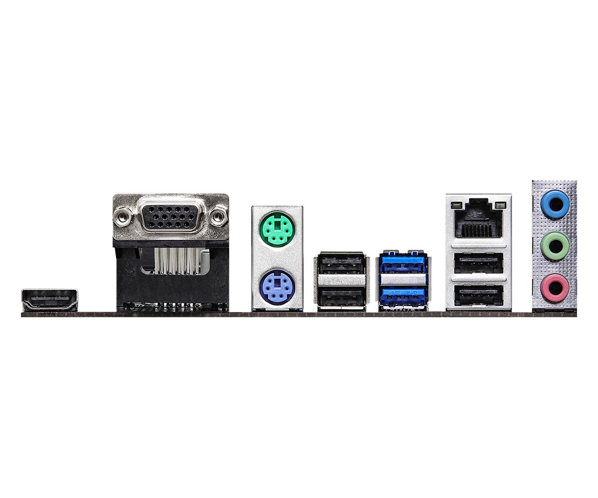 Дънна платка ASRock H510M-HVS R2.0, socket 1200, Micro ATX-4