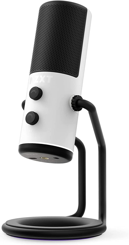 Настолен микрофон NZXT Capsule Бял