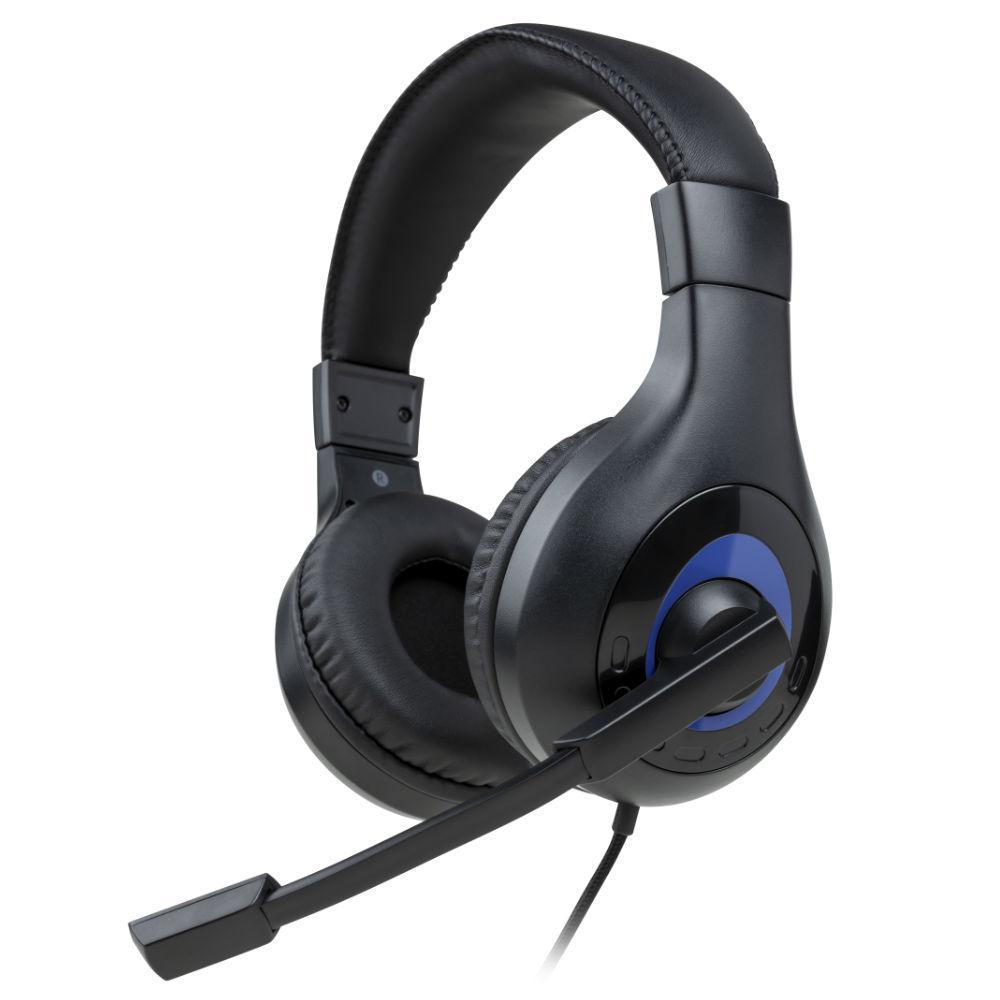 Геймърски слушалки Nacon Bigben PS5 Official Headset V1 Black, Микрофон, Черен