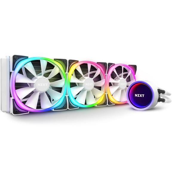 Охладител за процесор NZXT Kraken X73 RGB (360mm), AMD/Intel, Бял