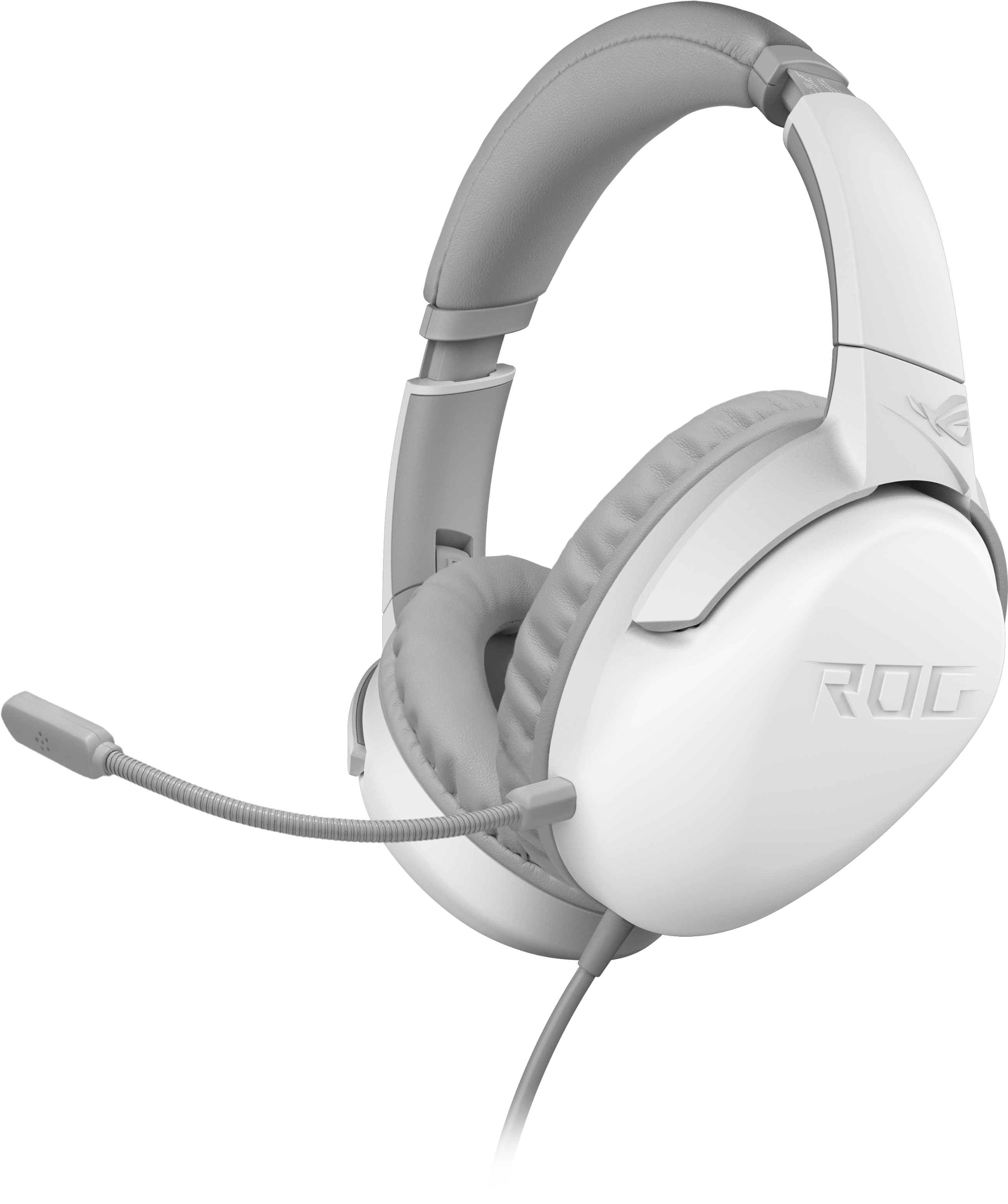 Геймърски слушалки ASUS ROG Strix Go Core Moonlight White