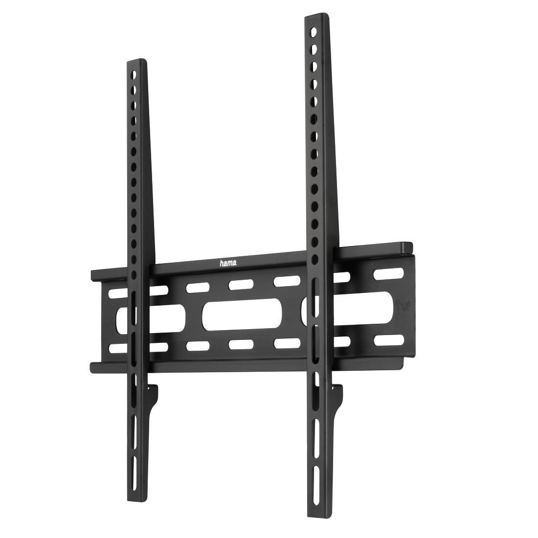 Стенна стойка за TV HAMA 108770, Фиксирана, 32-56, 30 кг, Черна