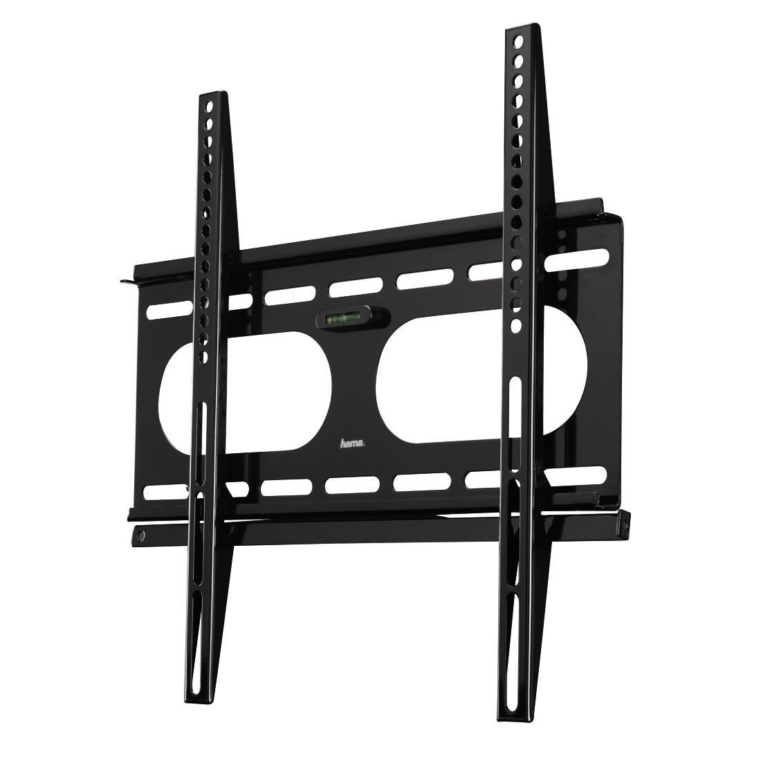 Стенна стойка за TV HAMA 11757, Фиксирана, 32-56, 50 кг, Черна