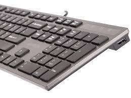 Клавиатура A4tech KV-300H, 2 х USB порт-2