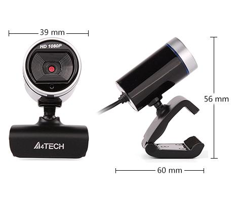 Уеб камера с микрофон A4TECH PK-910H, Full-HD, USB2.0-4
