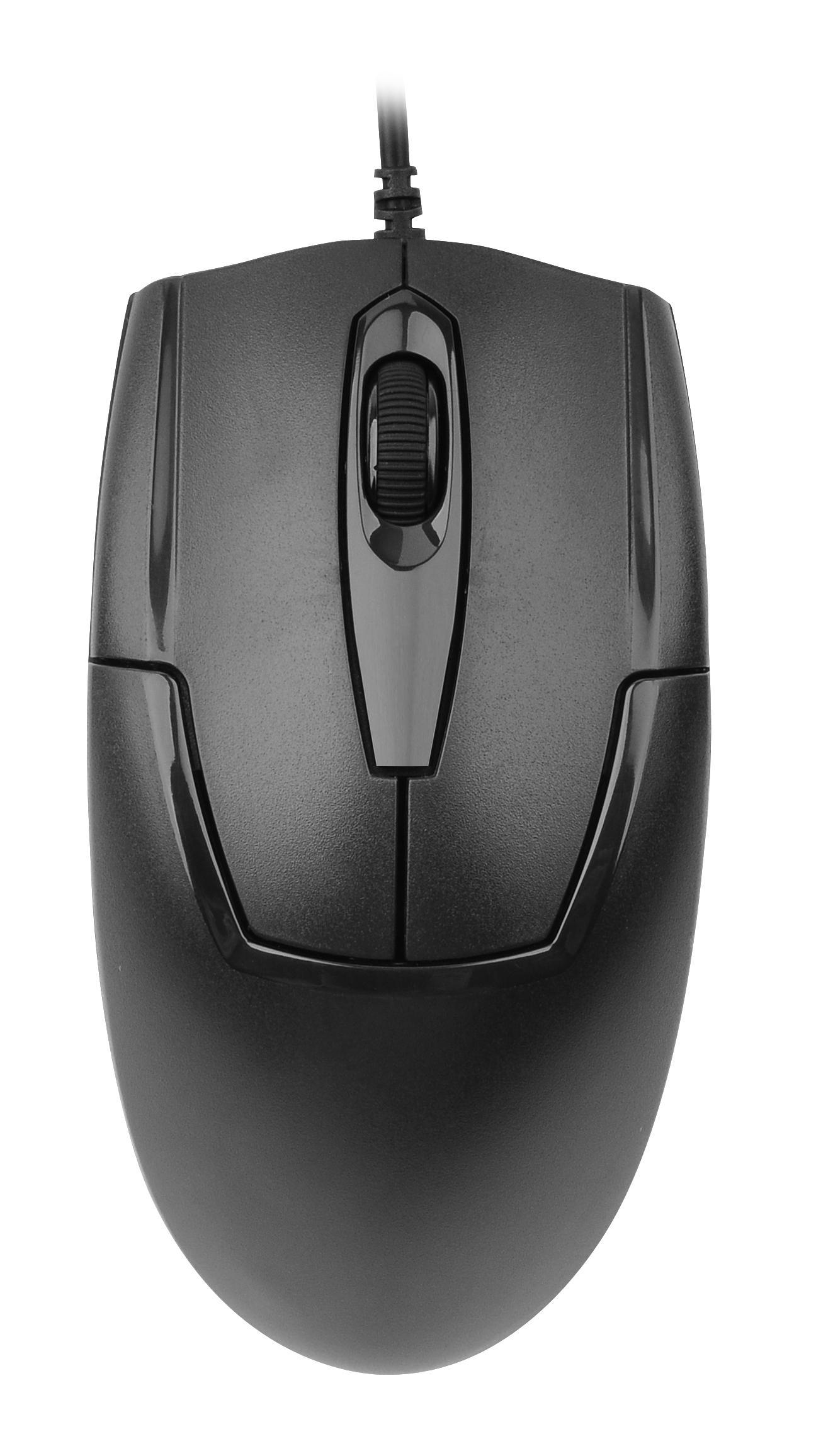 Оптична мишка A4Tech OP 550NU, Черен, USB