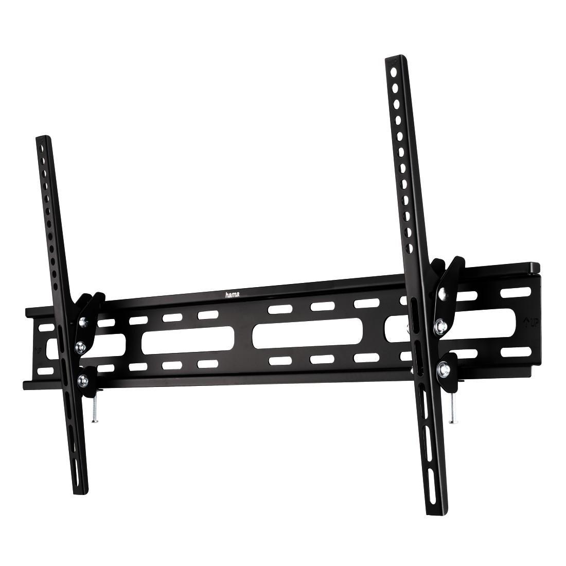 Стенна стойка за TV HAMA 108719, Регулируема, 37-75, 60 кг, Черна
