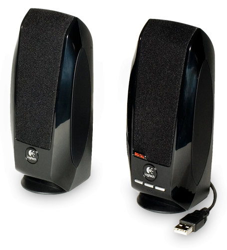 Тонколони Logitech S150, 2.0, 1.2W, USB, черен