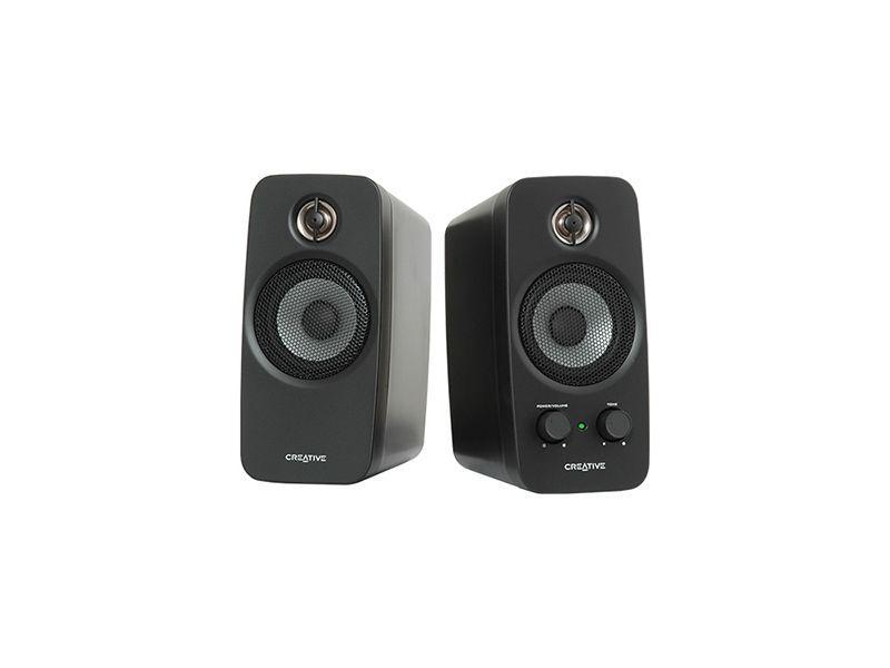 Тонколони безжични Creative T15, 2.0, 4W, Bluetooth, Черен-2