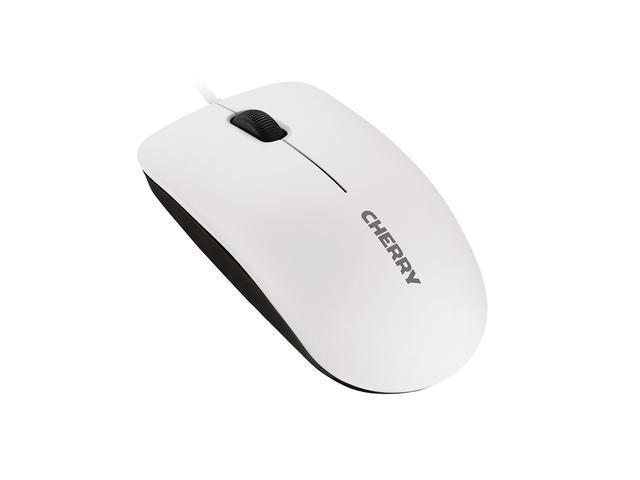 Жична мишка CHERRY MC 1000, Бял, USB