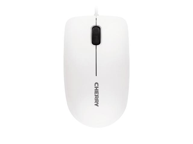 Жична мишка CHERRY MC 1000, Бял, USB-2