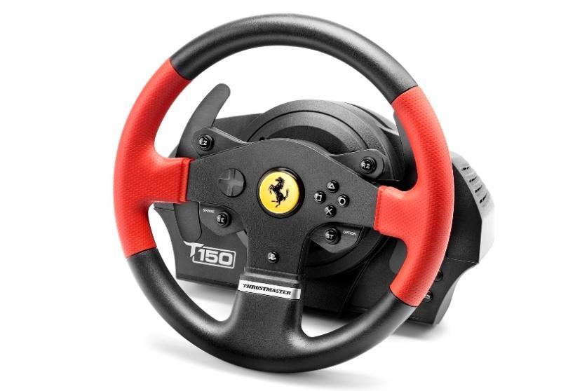 Волан THRUSTMASTER, T150 Ferrari Wheel Force Feedback, за PC / PS3 / PS4-2
