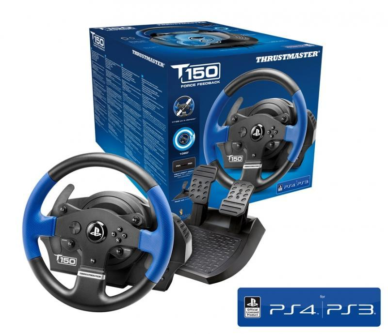 Волан THRUSTMASTER, T150 Force Feedback, за PC / PS3 / PS4-3