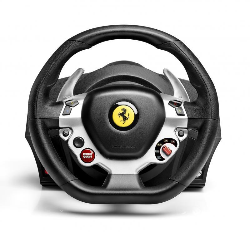 Волан THRUSTMASTER, TX Ferrari 458 Italia Edition, за PC  /  XBox-2