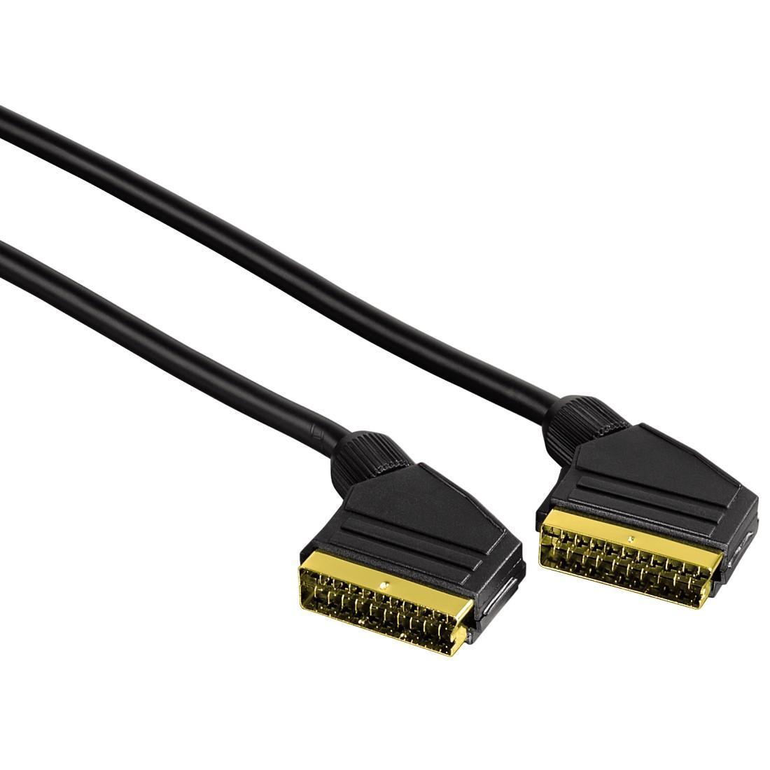 Видео кабел HAMA 11944, Скарт-Скарт, 1.5м, 21pin
