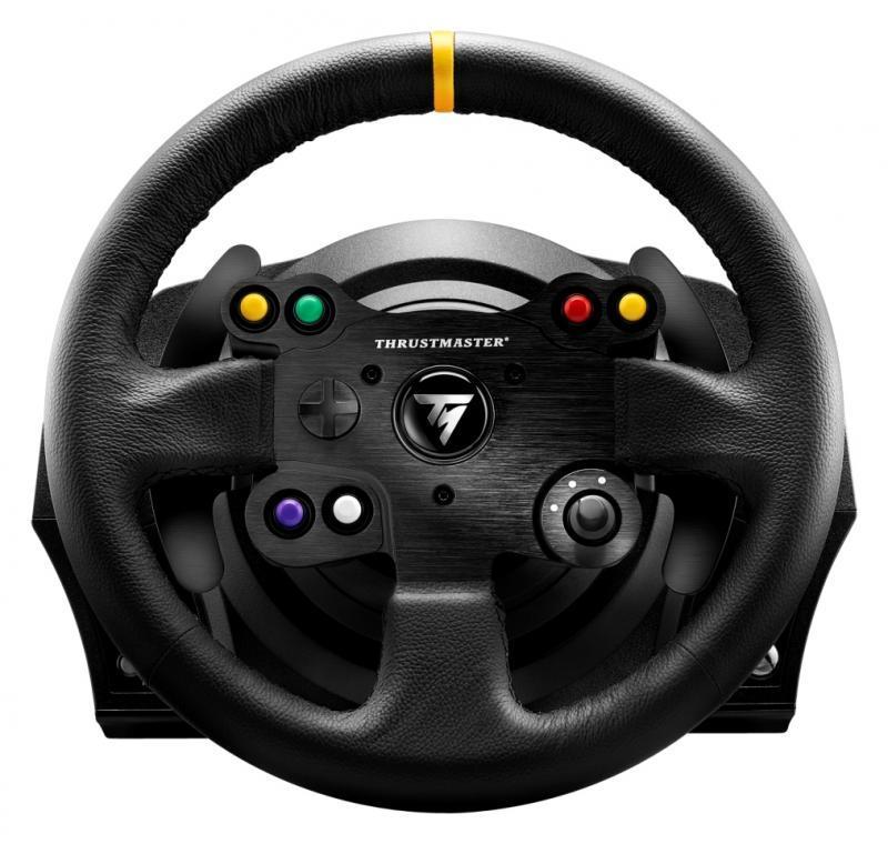 Волан THRUSTMASTER, TX Racing Wheel Leather Edition, за PC  /  XBox