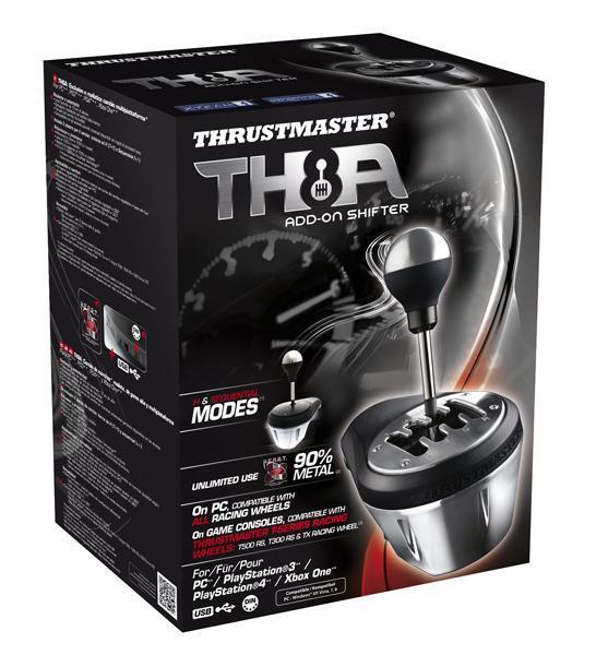 Скоростна кутия за състезателна симулация THRUSTMASTER TH8A Shifter Add-on,  за PC / PS3 / Xbox One / PS4-4