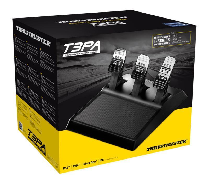 Педали за състезателна симулация THRUSTMASTER T3PA ADD-ON,  за PC / PS3 / Xbox One / PS4-3