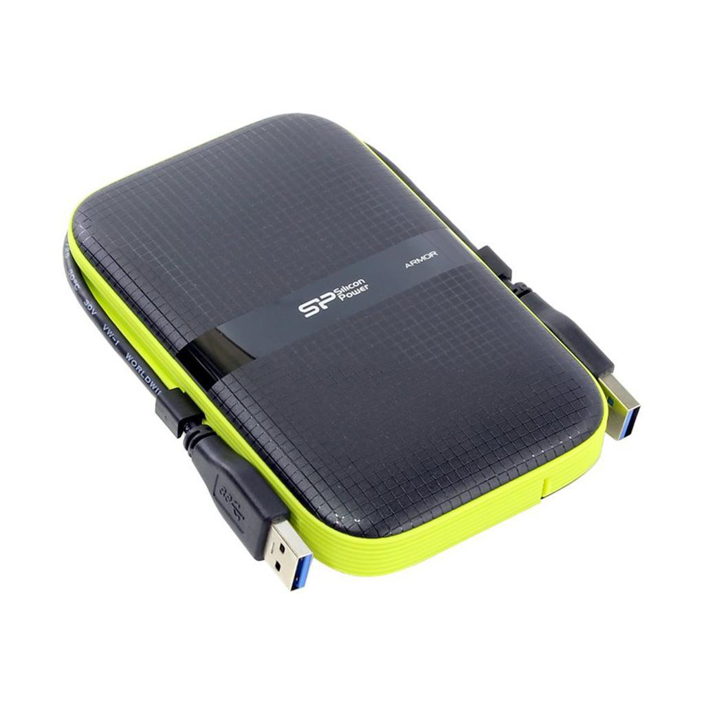 Външен хард диск SILICON POWER Armor A60, 2.5, 2TB, USB3.1 Удароустойчив