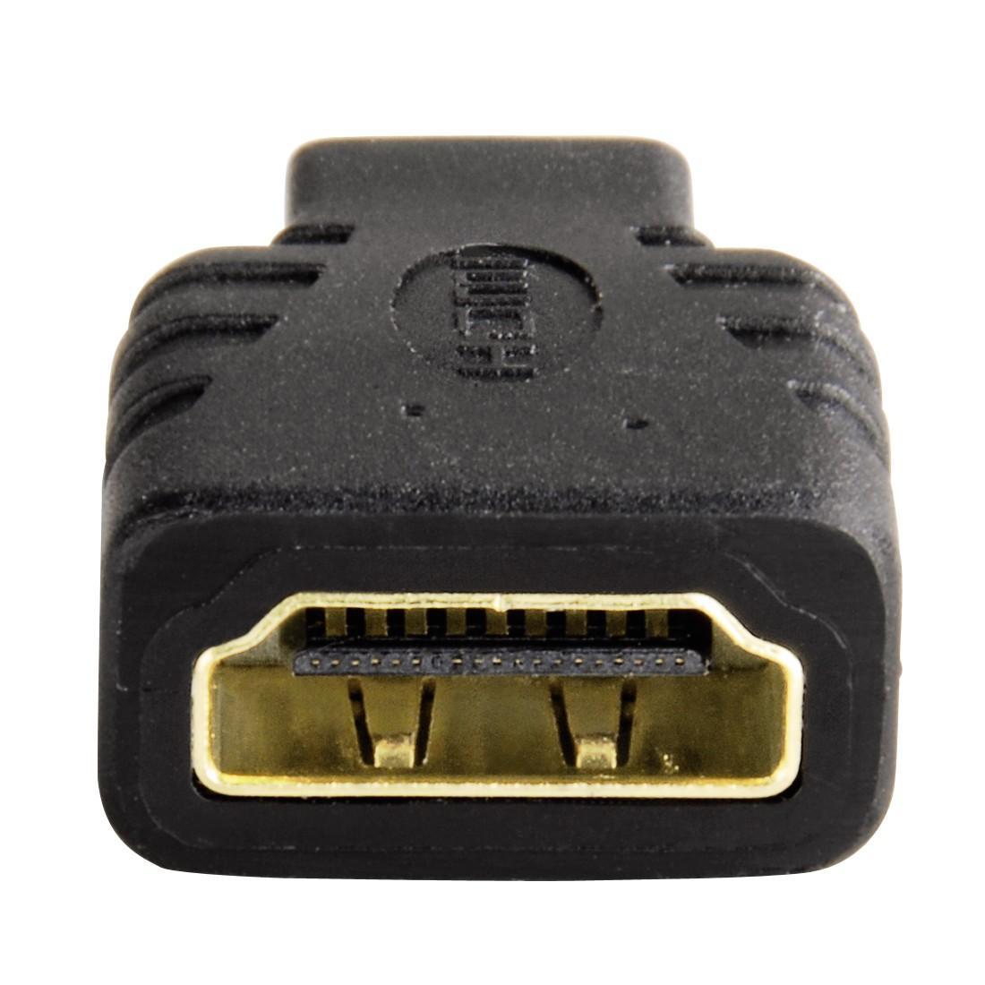 Адаптер HAMA 39863 HDMI женско- Micro HDMI мъжко, 3 звезди-2