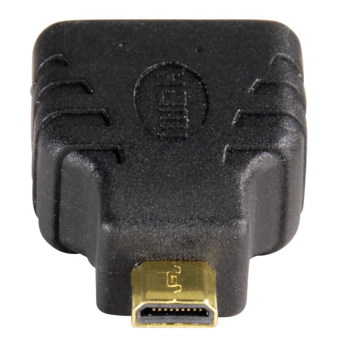 Адаптер HAMA 39863 HDMI женско- Micro HDMI мъжко, 3 звезди-3