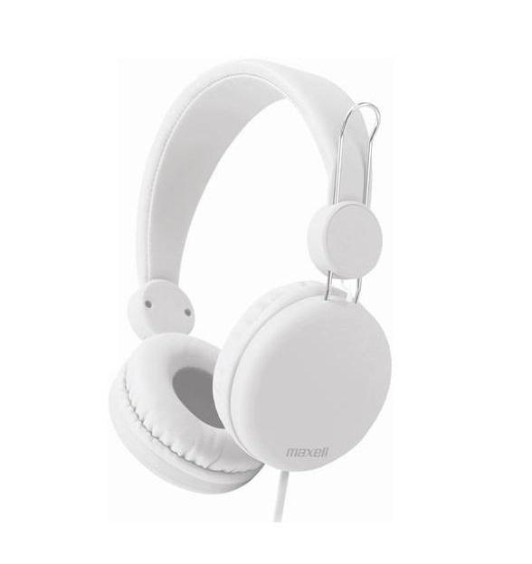 Слушалки с микрофон MAXELL HP SPECTRUM, SMS-10S , Бял