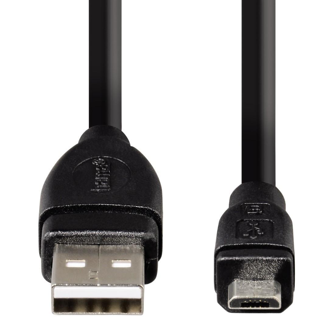 Кабел HAMA USB 2.0 - micro USB, 3 м, 1 звезда-2
