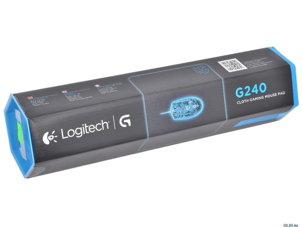 Геймърски пад Logitech,  G240, Черен-3