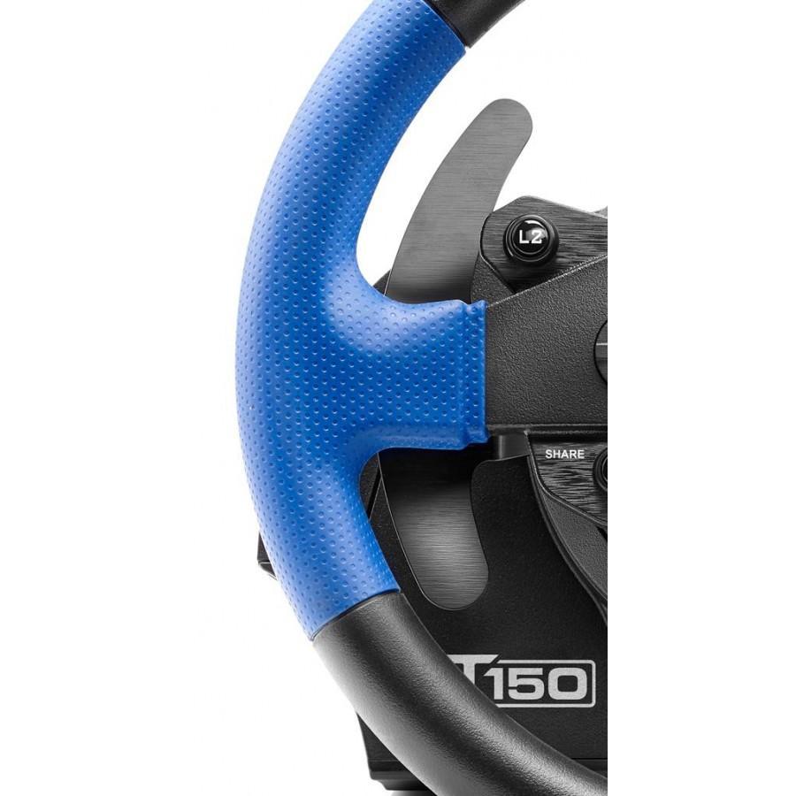 Волан THRUSTMASTER Racing Wheel T150 PRO PS3/PS4/PC, Черен/Син-4