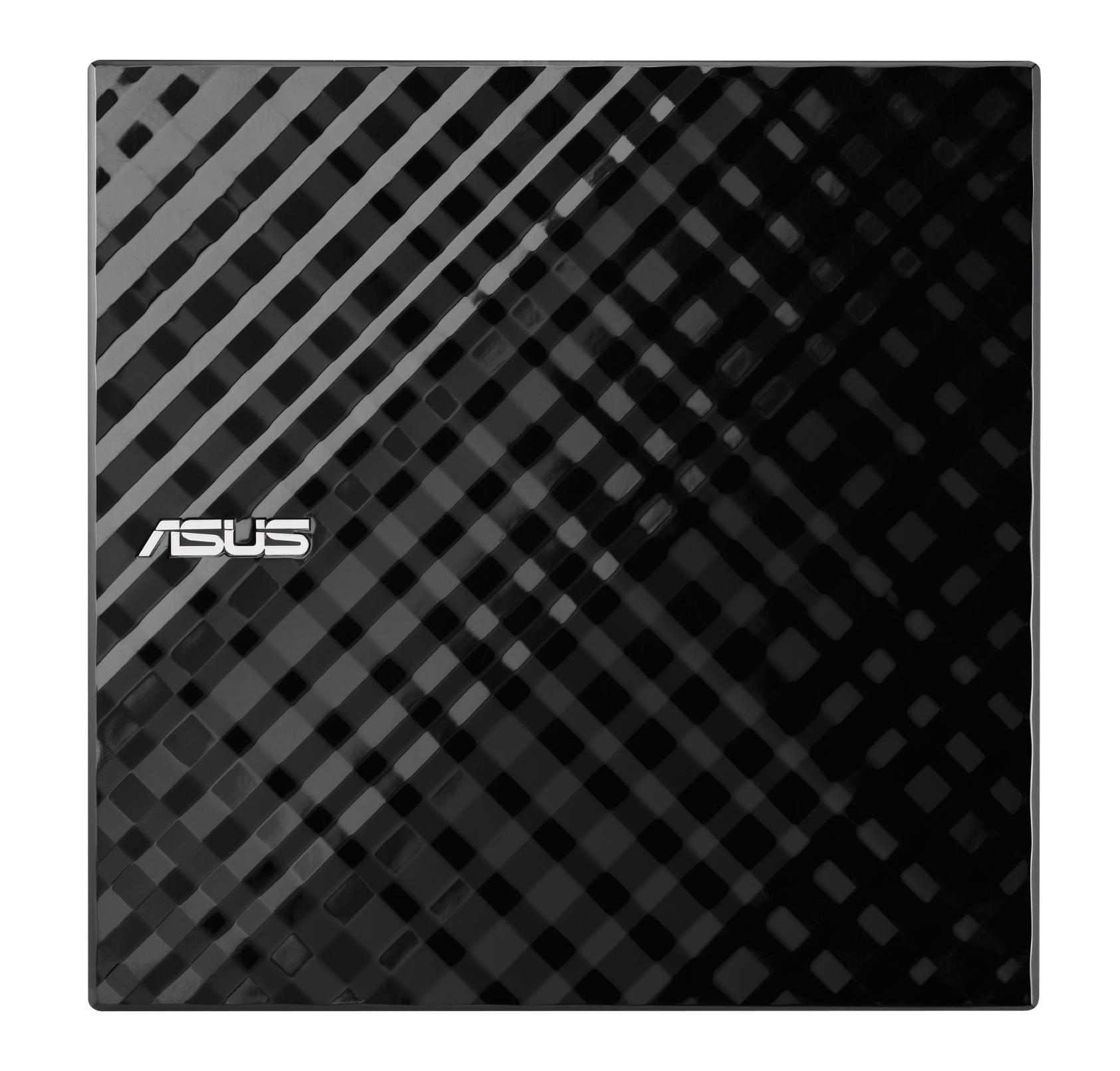 Външно USB DVD записващо устройство ASUS SDRW-08D2S-U LITE, USB 2.0, черно-2
