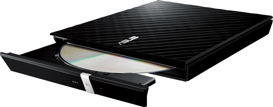 Външно USB DVD записващо устройство ASUS SDRW-08D2S-U LITE, USB 2.0, черно-4