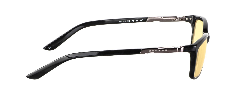 Геймърски очила GUNNAR HAUS Onyx, Amber, Черен-2