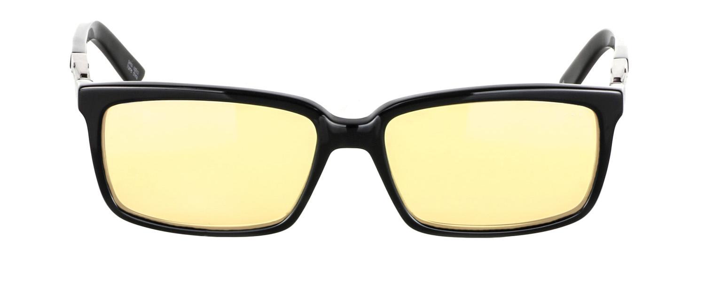 Геймърски очила GUNNAR HAUS Onyx, Amber, Черен-3