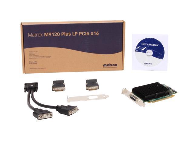 Видео карта Matrox M9120-E512LPUF Plus 512MB GDDR PCIe x16 Low Profile, Workstation