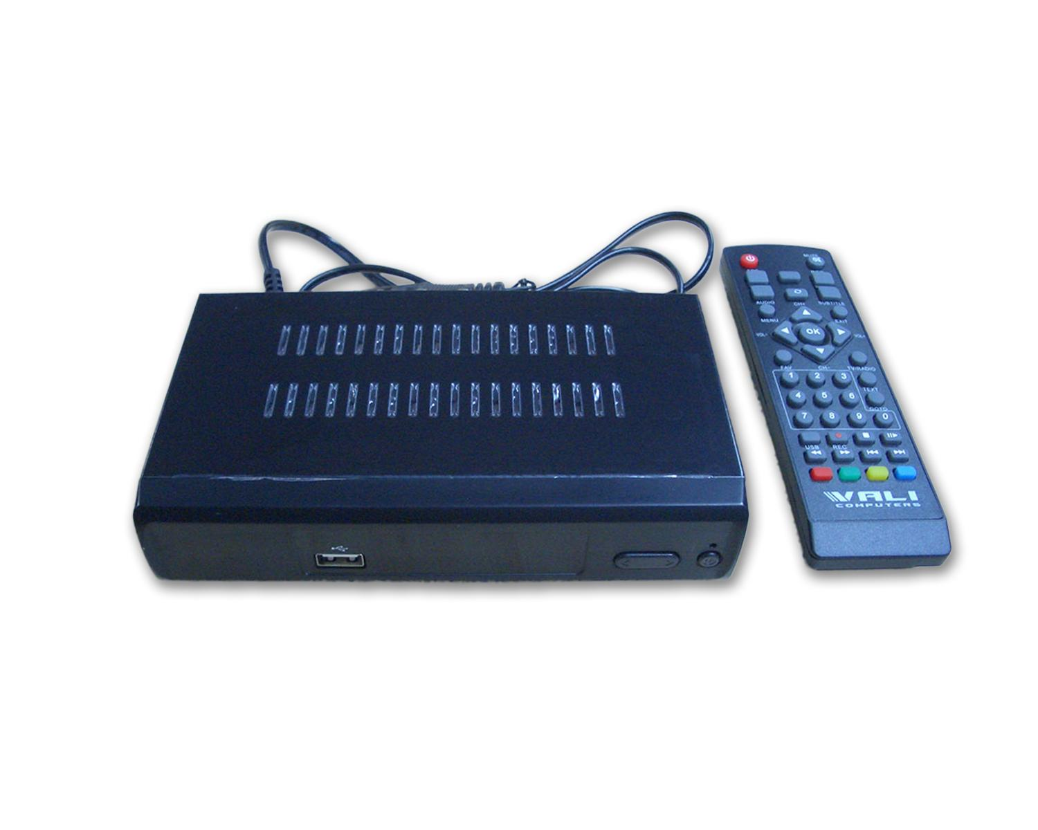Цифров декодер NotOnlyTV ONEAUDIO DTR5110 SET TOP BOX (DVB-T2 декодер), HDMI, CVBS, YPbPr