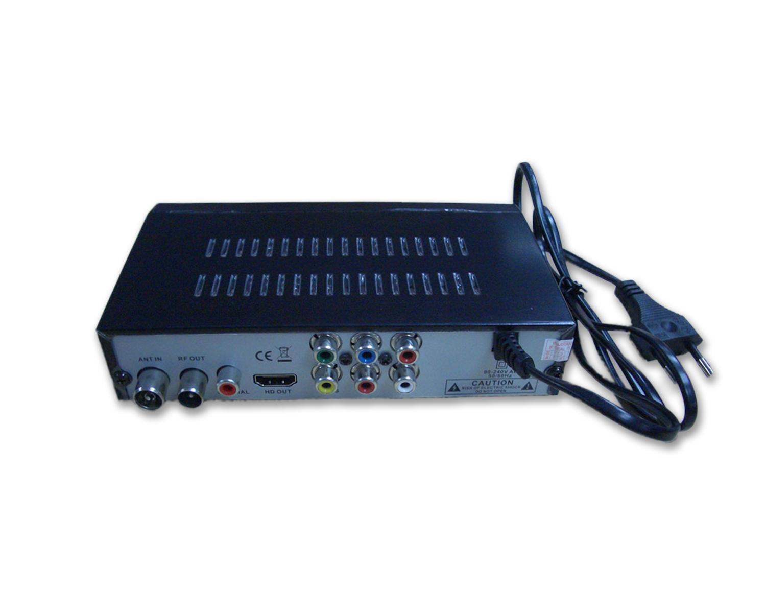 Цифров декодер NotOnlyTV ONEAUDIO DTR5110 SET TOP BOX (DVB-T2 декодер), HDMI, CVBS, YPbPr-2