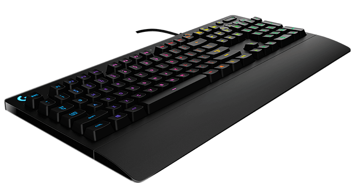 Геймърска клавиатура Logitech, G213 Prodigy, RGB