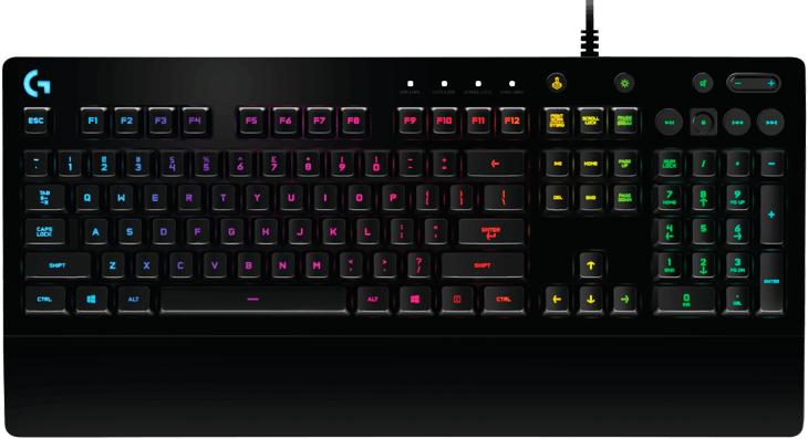 Геймърска клавиатура Logitech, G213 Prodigy, RGB-3