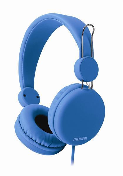 Слушалки с микрофон MAXELL HP SPECTRUM, SMS-10S , Син