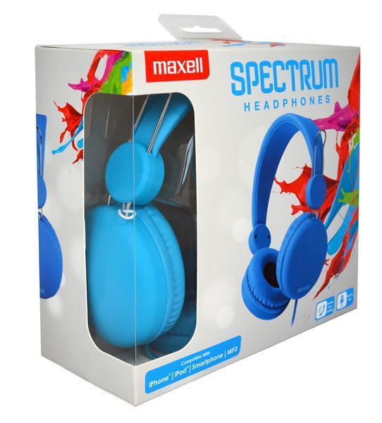 Слушалки с микрофон MAXELL HP SPECTRUM, SMS-10S , Син-2