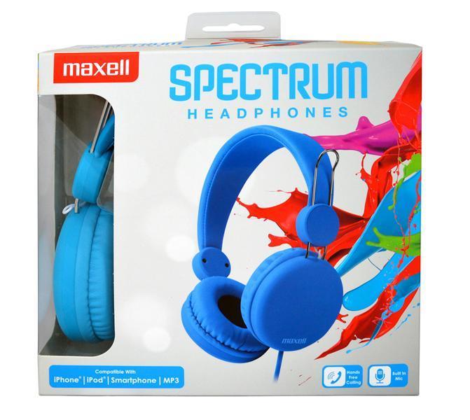 Слушалки с микрофон MAXELL HP SPECTRUM, SMS-10S , Син-3