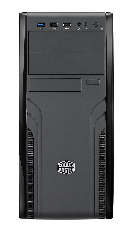 Кутия Cooler Master CM Force 500 FOR-500-KKN1, ATX, Черен-2