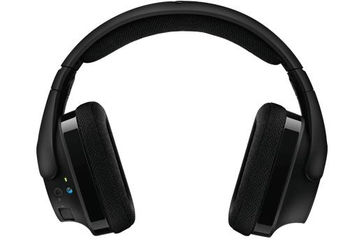 Геймърски слушалки Logitech, G533 DTS 7.1 Surround Sound, Безжични, Микрофон, Черни-3